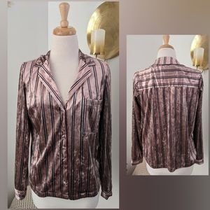 F21 Contemporary   long sleeve button down   small